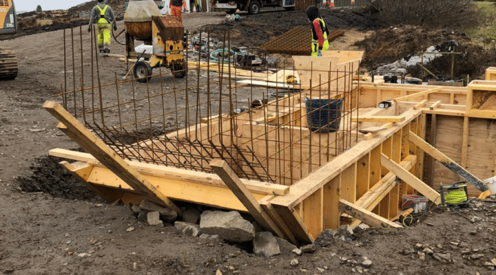 Kinlochbervie construction